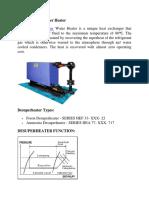 Desuperheater, Desuperheater Water Heater - Maniks