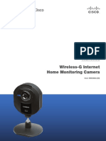 Wireless-G Internet Home Monitoring Camera Modelo WVC54GCA Linksys Cisco.pdf