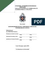Microprogramación Contabilidad de Costos i. Cpf 2015
