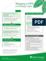 Algorithm – Managing a COPD Exacerbation in Primary Care