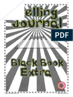 Year 7+ Extra Black Book Spelling Journal_PrimaryClass.co.uk