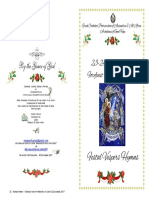 2017  24 Dec Festal Vespers Forefeast Nativity