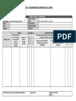 Job Safety Analysis - model
