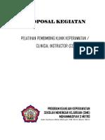 Proposal Pelatihan CI 16-11