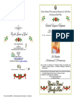 2017-26-27 Dec - Vespers-st Stephen Archdeacon Protomartyr