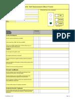Supplier Self Assessment Short Form