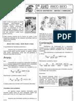 Matemática - Pré-Vestibular Impacto - Análise Combinatória - Arranjos e Combinações