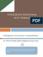 4. Inteligencia Emocional para el trabajador