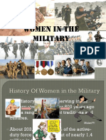 Women in the Military Ly
