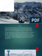 weather and snow pack