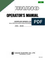 Doppler Speed Log-Operators Manual