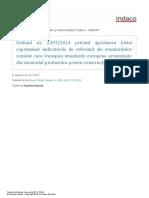 Ordinul 2207-2014 (Lista Standarde Armonizate)