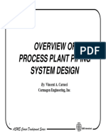 Process Plant Piping Overview