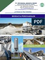 Company Profile PT. Tritunggal Adikarya Teknik