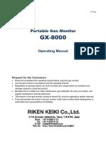 2. GX-8000 Operating Manual