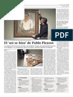 2014 El Así Se Hizo de Pablo Picasso