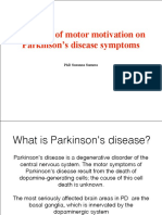 Influence of Motor Motivation on Parkinson's Disease Symptoms