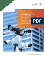 SAP Security Design Document