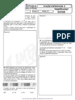 Matemática - Pré-Vestibular Impacto - Funções - Função Exponencial II