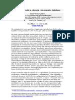 Participacion Social en Educacion y Observatorios Ciudadanos