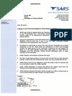 08 12 2017 Letter to Mr Carrim Yunus Leakage of FIC Report on Makwakwa