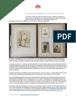 Fotocollecties en Historisch Genealogisch Onderzoek - Peter Eyckerman