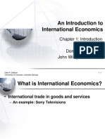 CHAPTER 1 International Economics