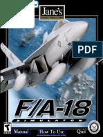 Janes - FA-18 Manual