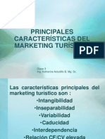 Principales Caractersticas Del Marketingturstico