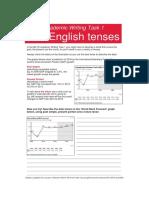 Tenses in Writing Worksheet