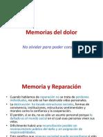 Memorias Del Dolor