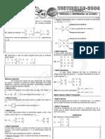 Matemática - Pré-Vestibular Impacto - Matrizes - Operações e Propriedades II