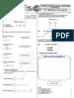 Matemática - Pré-Vestibular Impacto - Sequências - P G  - Definição e Termo Geral I