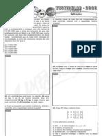 Matemática - Pré-Vestibular Impacto - Sistemas Lineares - Aplicações