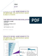 Fraud Risk Assessments