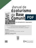 WWF Brasil - Manual de Ecoturismo de Base Comunitária - 2003