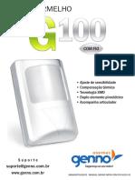 Manual Genno - Infra Com Fio g100 v2