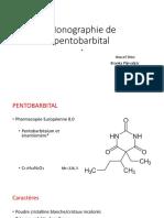 Monographie Pentobarbital