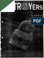 Joshua Jay - Destroyers