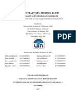 Praktikum Biokimia Klinis_Farmasi AC_Kelompok 4_Pemeriksaan SGPT
