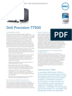 Dell Precision t7500 Spec Sheet