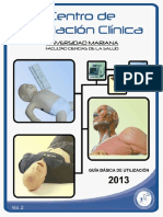 Centro de Simulación Clínica 2013