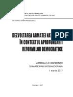 PDF Dezvoltarea an in Contextul Aprofundarii Reformelor Democratice (1)