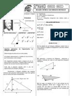 Matemática - Pré-Vestibular Impacto - Trigonometria - Relações Métricas No Triângulo Retângulo II