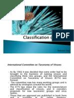 Classification of Virus