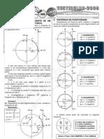 Matemática - Pré-Vestibular Impacto - Trigonometria - Relações Trigonométricas Fundamentais no Círculo