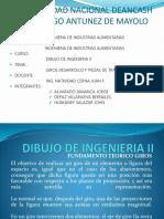 Dibujo de Ingenieria II Diapositivas Giros