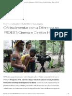 Oficina Inventar Com a Diferença No PROEXT_ Cinema e Direitos Humanos _ Artes Da UFSB
