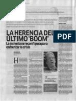 Herencia Del Boom Minero