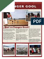 Dossier Prensa Tanger Gool